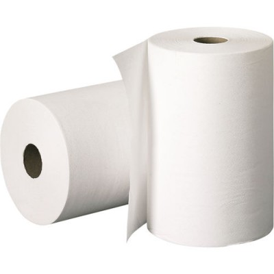 White Roll Paper Towel