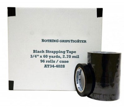 Black Strapping Tape