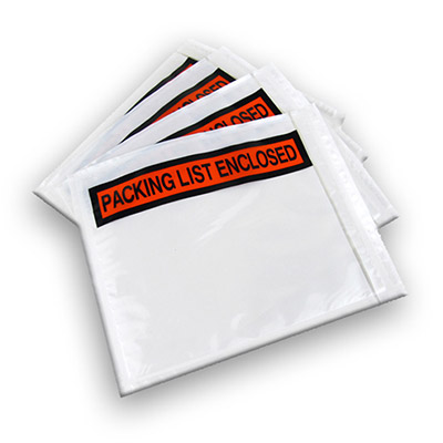 Packing List Enclosed Envelopes